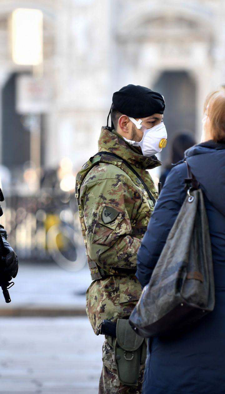 Вспышка коронавируса в Европе