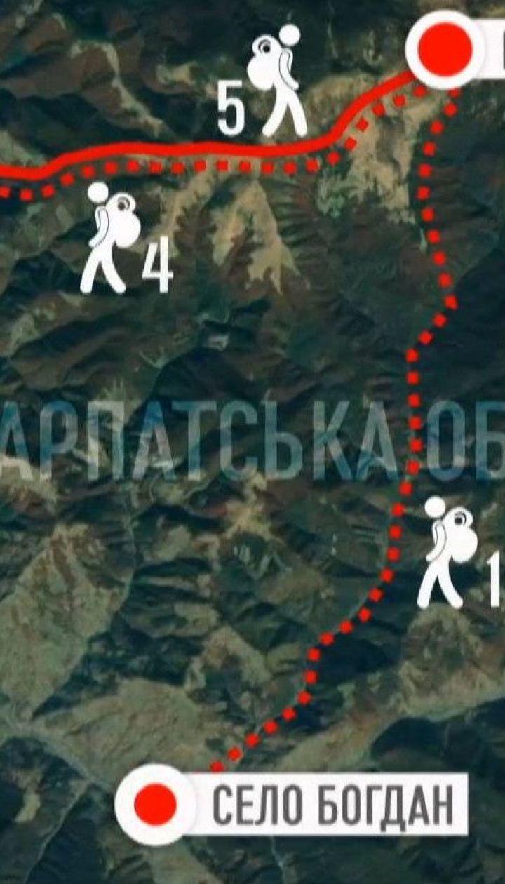 Закарпатські рятувальники знайшли заблукалих унаслідок негоди туристів