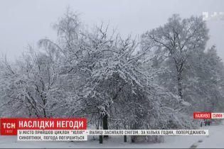 Метели и сильный ветер атаковали Украину: есть погибшая и пострадавшие