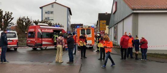 У Німеччині вдвічі зросла кількість постраждалих під час наїзду авто на карнавалі