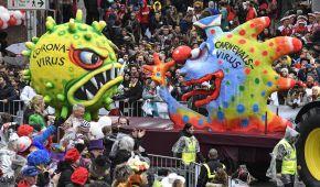 Коронавірус, боротьба з расизмом і карикатури на політичних лідерів. У Німеччині стартував щорічний карнавал