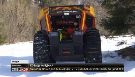 Автомобиль-лодку изготовили по заказу ГСЧС для спасения граждан