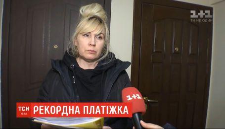 Киевлянка требует возмещения морального ущерба за слишком большой счет за газ