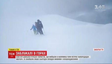 Найденные туристы заблудились в Закарпатье из-за игнорирования предупреждений о непогоде
