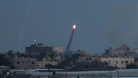 Палестина відновила ракетний обстріл Ізраїлю після заяви про припинення вогню