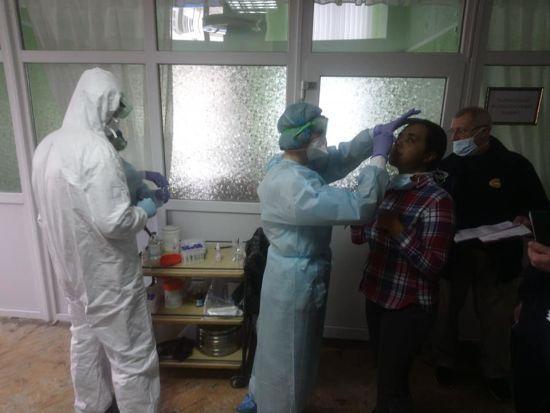 Шостий день обсервації в Нових Санжарах: коронавірусу не виявили, відбулися перші арешти через сутички