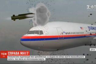 """Прокуратура Нидерландов имеет минимум 13 свидетелей по делу сбитого малазийского """"Боинга"""""""