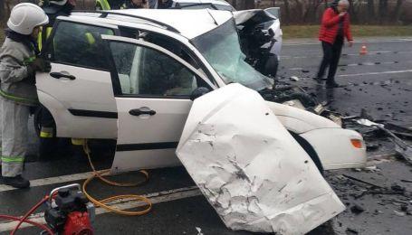 На трассе Киев-Чоп произошла ужасная авария с погибшими