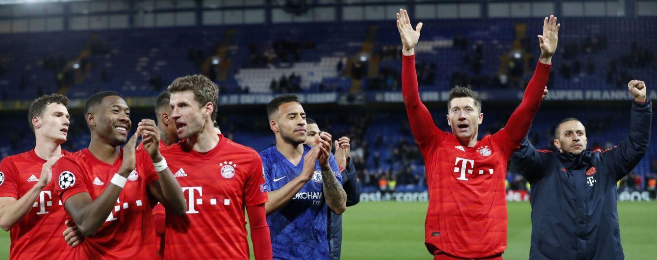 """Як """"Барселона"""" і """"Реал"""". """"Баварія"""" повторила унікальне досягнення іспанських грандів у Лізі чемпіонів"""