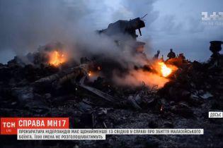 """Прокуратура Нідерландів засекретила імена 13 свідків у справі збитого малазійського """"Боїнга"""""""