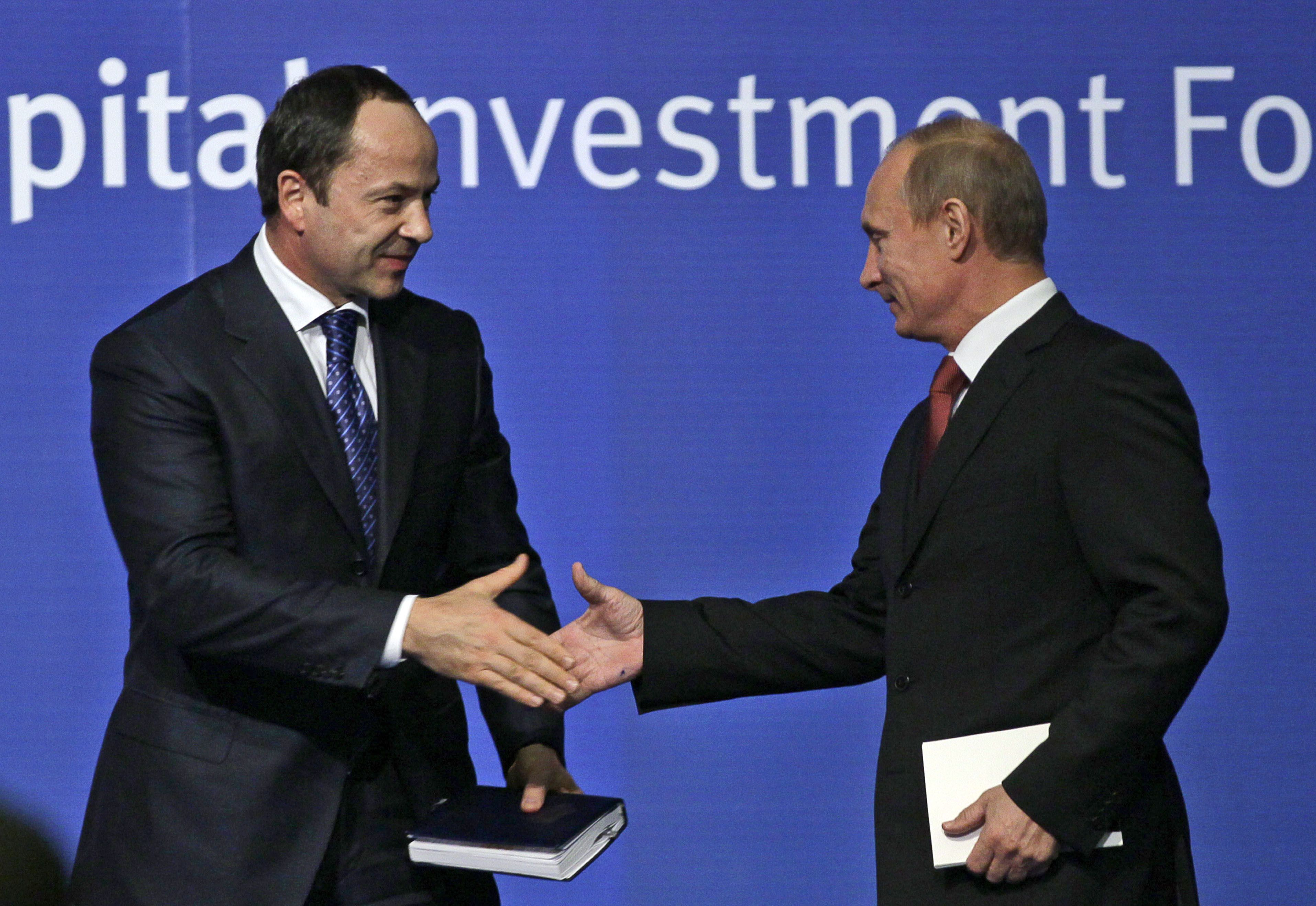 Сергій Тігіпко та Володимир Путін