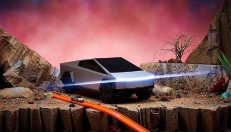 Hot Wheels выпустил собственный Tesla Cybertruck за $400