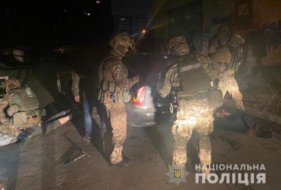 У Києві затримали банду офісних грабіжників