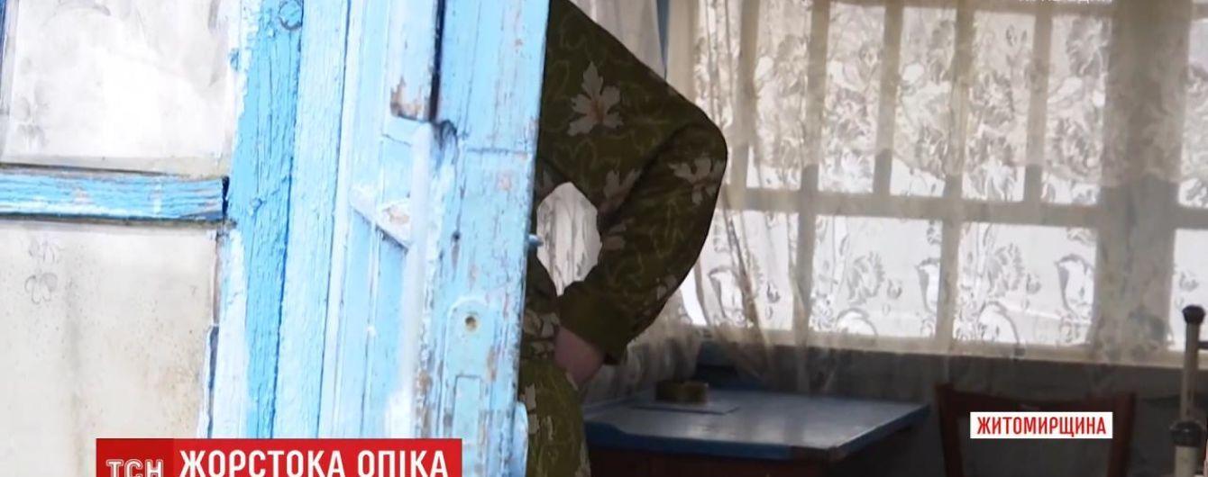 У Житомирській області опікунка побила дитину з інвалідністю: чому жінка не приховує факту побиття