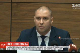 Очільник Полтавської облдержадміністрації відзвітував за перші 100 днів роботи