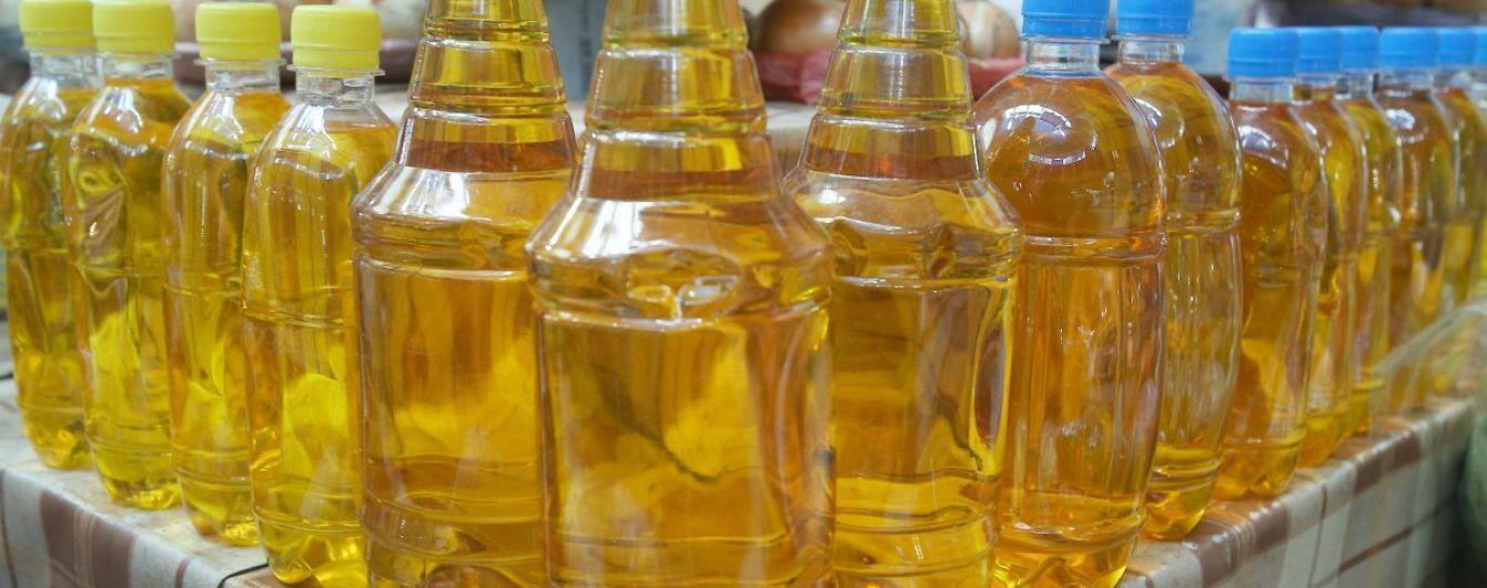 Україна продає соняшникової олії найбільше у світі