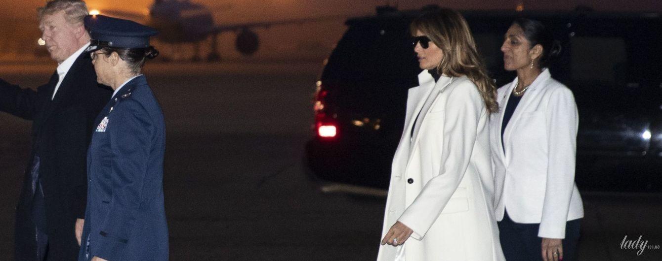 Такою ми її ще не бачили: Меланія Трамп взула черевики на грубій підошві