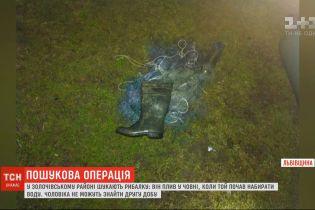 Зниклого у воді рибалку шукають рятувальники Львівської області