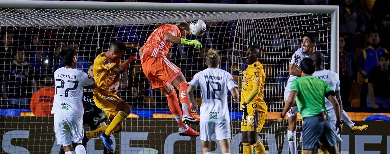 Воротар став героєм матчу у Мексиці, забивши вирішальний гол на останній хвилині гри