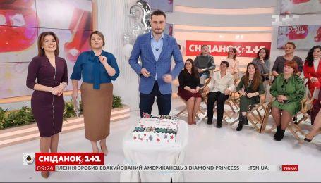 """""""Сніданок з 1+1"""" вітає Єгора Гордєєва з днем народження"""