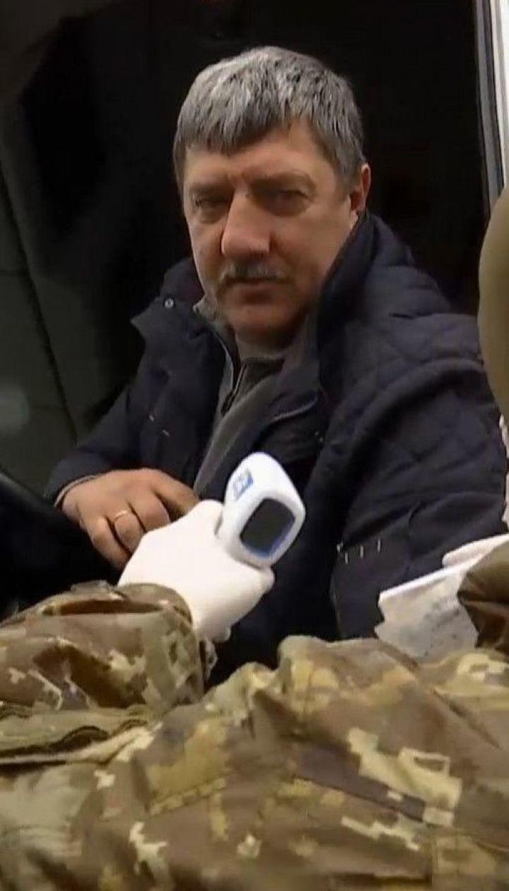 Маски і спеціальні бокси: українські прикордонники підготувалися до перевірок мандрівників на коронавірус