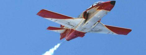 У берегов Испании упал в море военный самолет