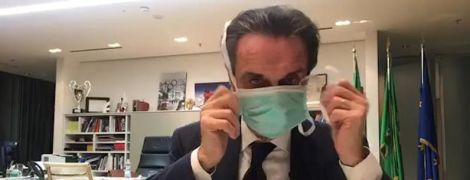 Руководитель итальянской Ломбардии посадил себя на карантин из-за коронавируса