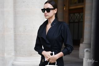 Красуня в чорному: Ірина Шейк приїхала на Паризький тиждень моди