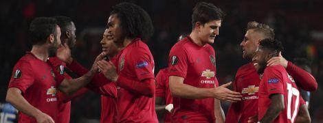 """""""Манчестер Юнайтед"""" познущався з """"Брюгге"""" та вийшов в 1/8 фіналу Ліги Європи"""