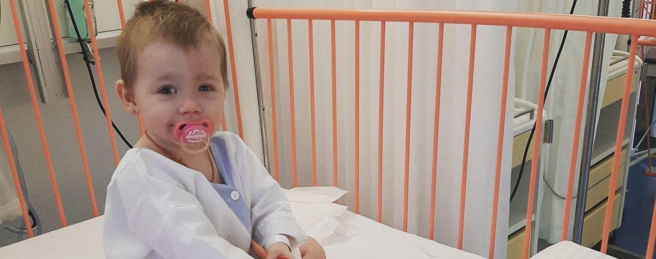 Термінової допомоги потребує однорічна Емілія, у якої рак вразив око