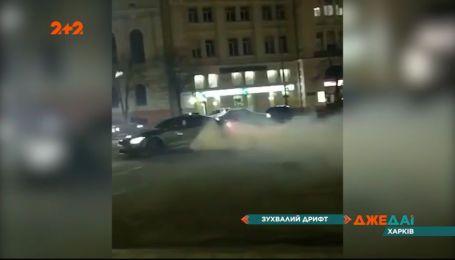 В Харькове устроили нелегальные гонки – водителей разыскивает полиция