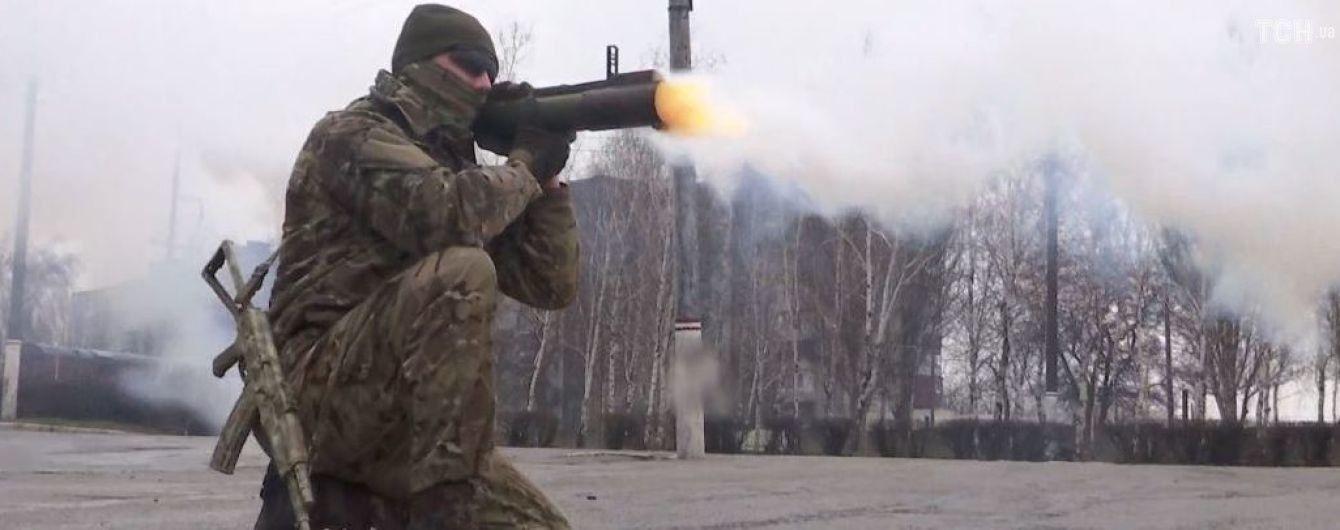 В Запорожье тренируются курсанты будущей военной полиции