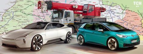 """Миниэлектрокар Renault и кран-гигант """"КрАЗ"""". Пять важнейших автоновостей за неделю"""