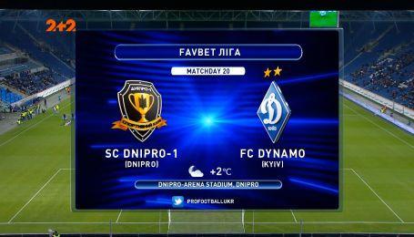Дніпро-1 - Динамо - 3:1. Огляд матчу