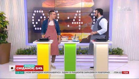 Руслан Сенічкін приготував млинці з переможцем конкурсу #батл_млинців