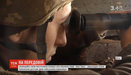 Двое украинских военных получили ранения в результате обстрела на фронте
