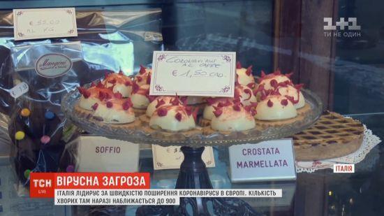 """""""Стартап"""" із гумором: італійські кондитери випекли тістечка у формі коронавірусу"""