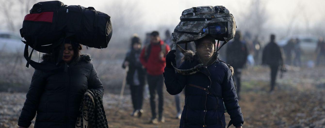 Туреччина пропустила до Євросоюзу понад 76 тисяч біженців