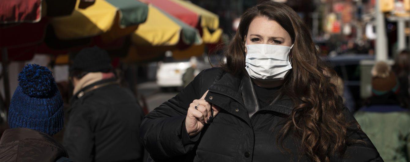 У Нью-Йорку підтвердили перший випадок коронавірусу