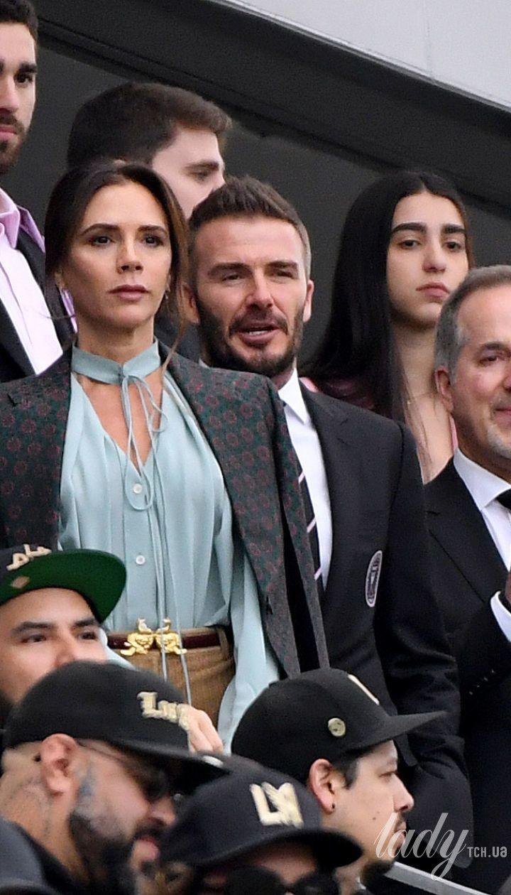 Виктория Бекхэм и ее муж Дэвид