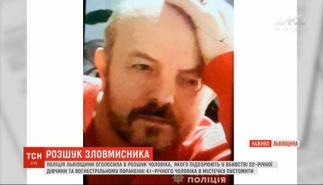 Поліція розшукує 56-річного Віктора Тура за вбивство 22-річної дівчини у Львівській області