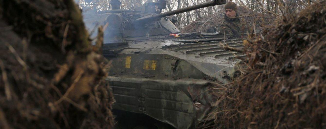 На Донбассе боевики ранили военного Объединенных сил