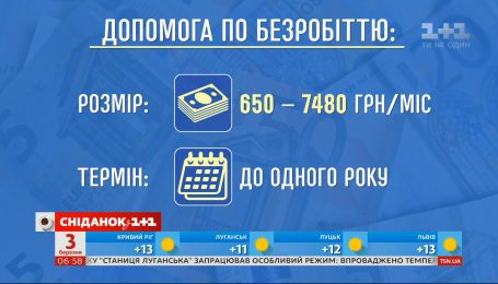 В Украине увеличились минимальные выплаты по безработице