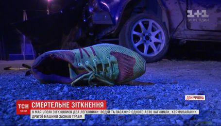 В Мариуполе в результате ДТП два человека погибли, один получил травмы