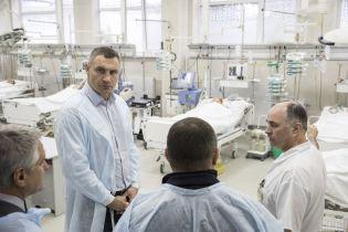 Кличко попросив у донорських організацій допомоги у боротьбі з коронавірусом