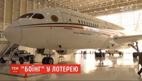 Президентский самолет разыграют в лотерею в Мексике