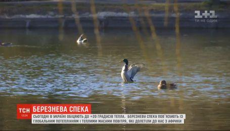 Пришла весна: украинские города бьют тепловые рекорды