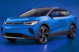 Электрический кроссовер Volkswagen: опубликованы цена, запас хода и фото
