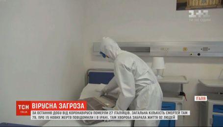 Від коронавірусу в Італії померли вже 79 людей