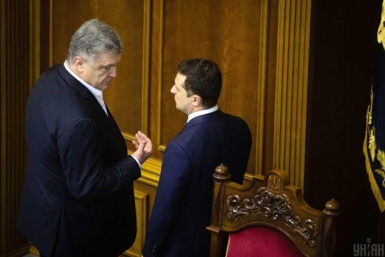 """Ви мені не ворог: Порошенко звернувся до Зеленського, який назвав його """"маніпулятором"""""""